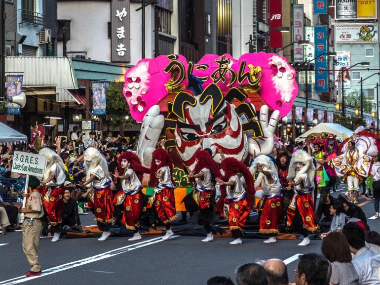 японский карнавал картинки
