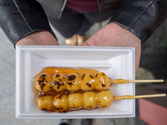 Japanese food dango