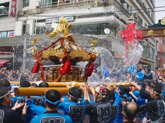 fukugawa festival