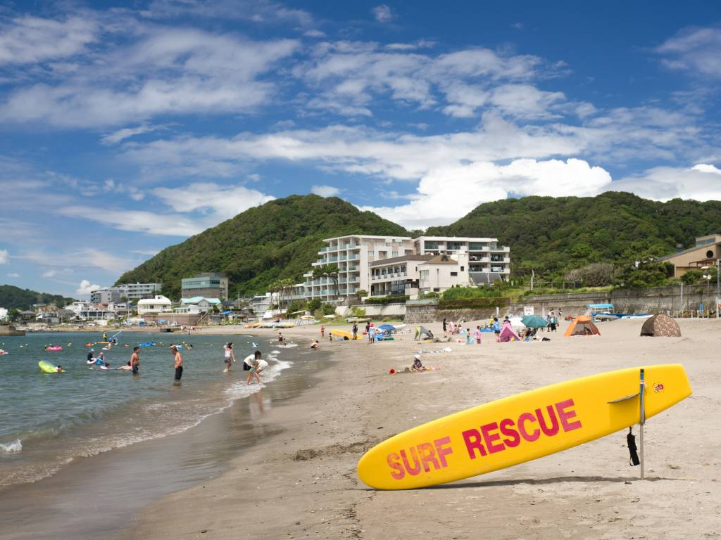 Morito Hayama Beach