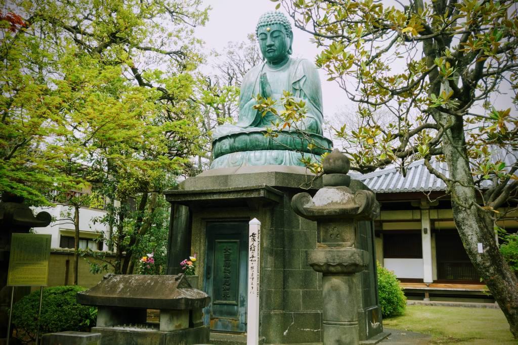 Yanaka Tennoji Temple Buddha