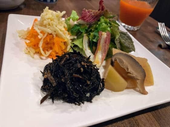 Himizutsuchi whole food restaurant Tokyo