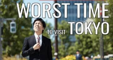 Worst Times to Visit Tokyo