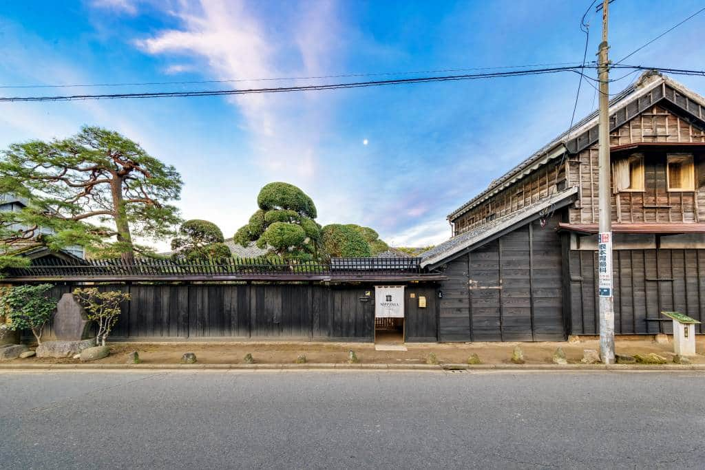 Sawara, Chiba architecture