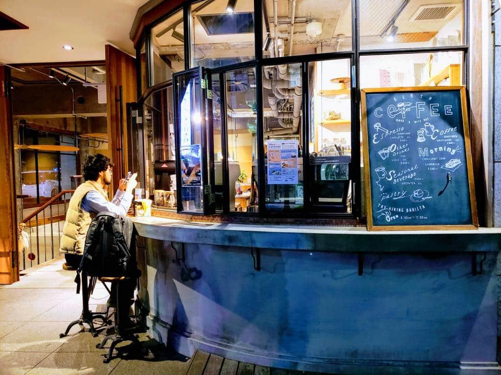 Citan Hostel Coffee shop, tokyo luxury hostels