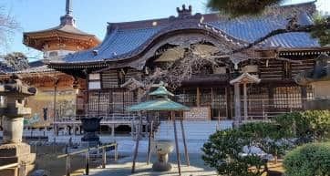 Yutenji Temple Main Hall